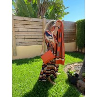 BUFANDA Orange