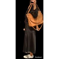 BOLSO Camel Piel