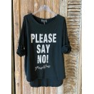 CAMISETA Please Say No