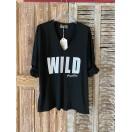 CAMISETA Wild Negra