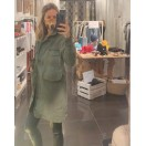 TRENCH Mujer Verde