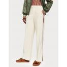Pantalones Scotch&Soda de pernera ancha con detalle en contraste