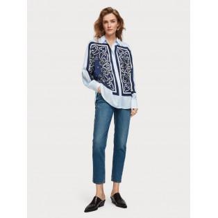 Camisa MAISON SCOTCH con estampado de bandana