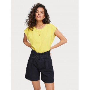 MAISON SCOTCH Camiseta boxy fit