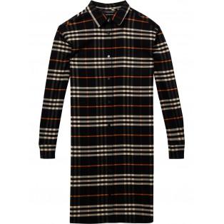 Vestido Scotch&Soda camisero de cuadros