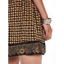 Falda con estampados en contraste Scotch&Soda