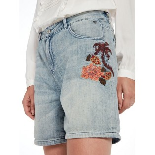 Shorts con flores bordadas Scotch&Soda