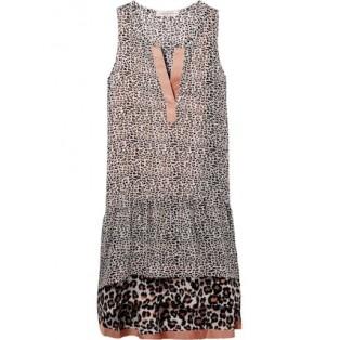 Vestido Scotch&Soda Mixed Animal Print Dress