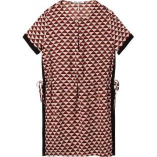 Vestido Scotch&Soda estampado de manga corta