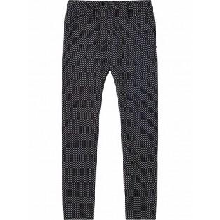 Pantalones entallados de jacquard scotch&Soda