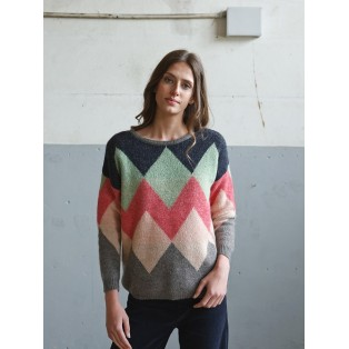 JERSEY indi&cold JACQUARD ROMBOS COLOR