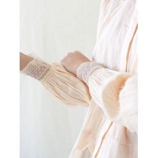 Blusa victoriana de algodón Intropia