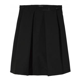 Falda técnica con pinzas