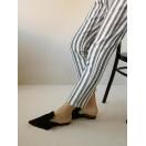 Pantalón rayas de algodón Intropia