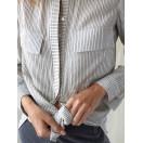Camisa rayas lyocell y algodón Intropia