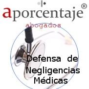 Reclamaciones Negligencias médicas A Porcentaje