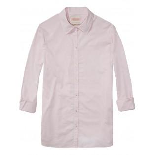 Camisa con boyfriend fit Rosa