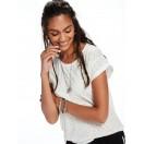 Camiseta dévoré Blanca Scotch&Soda