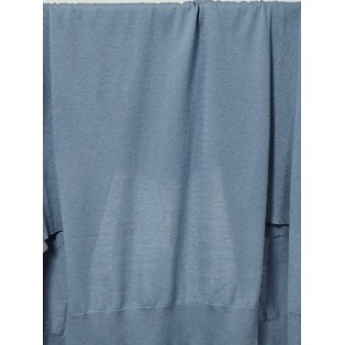 Chaqueta larga aberturas laterales Intropia Azul