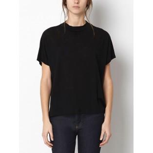 Camiseta fina cuello tirilla Intropia