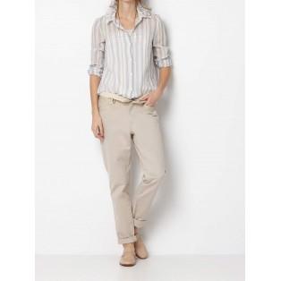 Camisa victoriana multi rayas Intropia